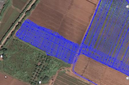 Размер поля, площадь поля, периметр поля, мониторинг тракторов, разметка поля