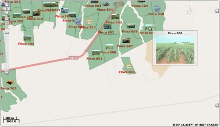gps мониторинг, мониторинг в Беларуси, измерение поля, размер поля, красивое поле